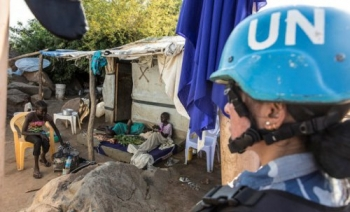 Integrated patrol unit maintaining security in South Sudan