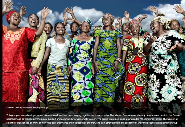 Maison Dorcas Women's Singing Group
