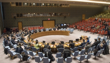 Live webcast of UN Security Council session on June 25th 2020