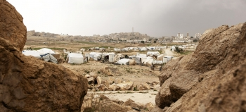 IDP camp in Yemen