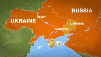 A visual map of Crimea