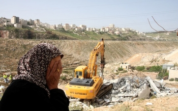 In the first three months of 2016, Israeli forces demolished an average of 165 homes a month, the UN said