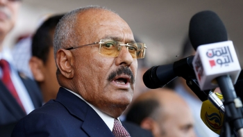 Saleh speaks to his people asking for a change of course: siding with Saudi Arabia