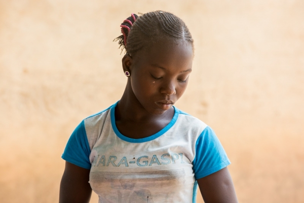 A 15 years old malian girl