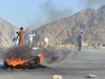 Suicide bombing targets demonstrators in the Nangarhar Province in Afghanistan on 11 September 2018