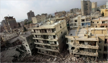 Tyre, a southern city in Lebanon, during the war in 2006.