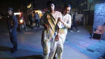 Twin bombing kills at least 20 at a sports club in Kabul, Afghanistan on September 5, 2018