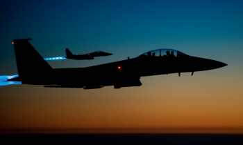 The U.S.-led coalition continues to target ISIS with air strikes in Syria and Iraq