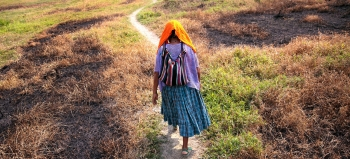 A survivor of military enslavement in Guatemala walks the path towards healing thanks to an emergency grant.