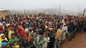 Internally displaced people in the Gedeo Zone of Ethiopia  Crediti/autore: