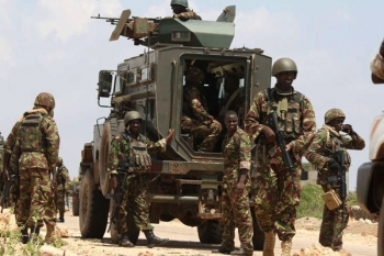 patrol Kismayu town on November 22, 2015. If Kenya did indeed lose more than 100 soldiers last week, the El Adde attack represents Amisom's bloodiest day since it deployed to Mogadishu in March 2007.