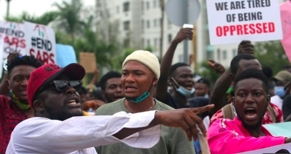 Protestors in Nigeria call to end SARS and address brutality of armed forces