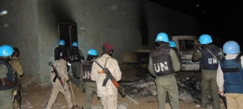 UNAMID peacekeepers dispatched to Kutum town to assess the security situation