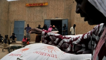 red cross operating in Mali