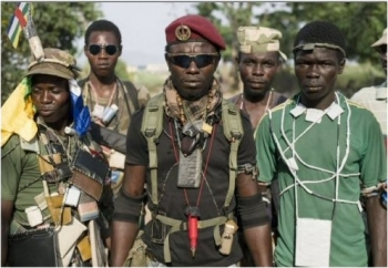 "Fighters of the ""anti-Balaka"" armed group near Yogofongo village are responsible for the attack on Monday, May 8."