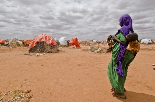 The airstrip area displacement site in the Somali region of Ethiopia
