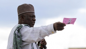 John Fru Ndi of Social Democratic Front