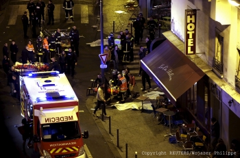 On the evening of Friday, November 13, three sets of systematic attacks hit cultural centers in Paris, targeting civilians at restaurants and bars, the Stade de France and the Bataclan concert hall.