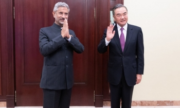 China and India's foreign ministers after meeting in Moscow