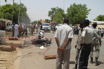 Three suicide bombings struck a market in Lake Chad killing over 30 civilians and injuring an estimated 80