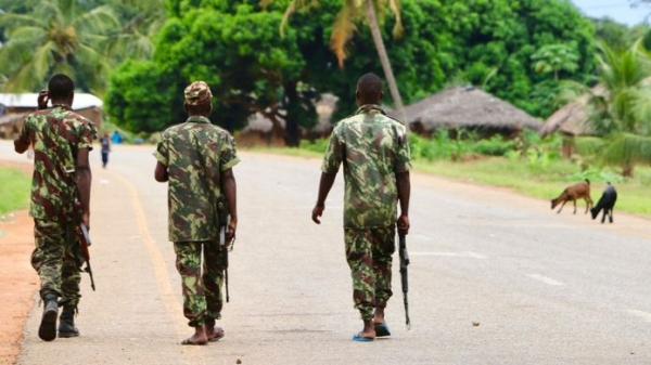 The Mozambican army has started policing towns in the north of the African country
