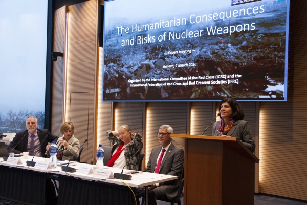 Meeting of 2 March 2020 on humanitarian consequences and risks of nuclear weapons