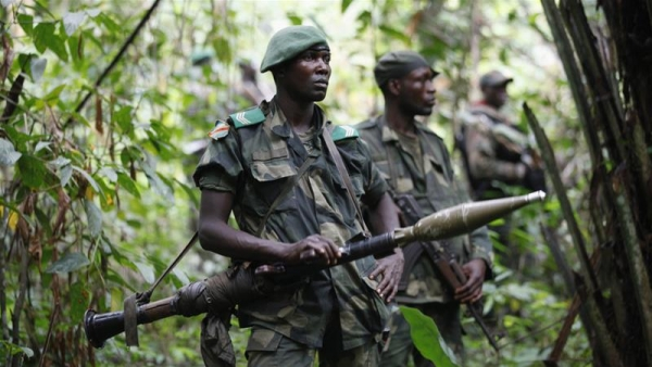 DRC armed forces