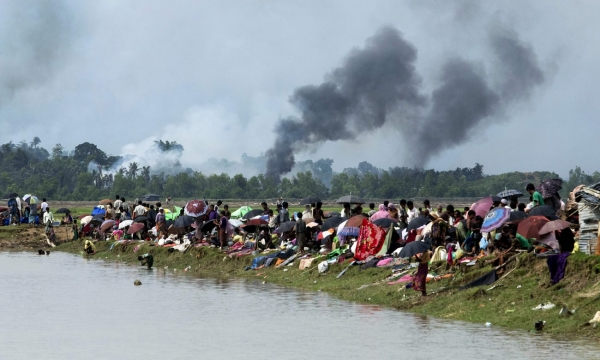 Violent ethnic cleansing in Rakhine has forced over 600,000 Rohingya to flee to Bangladesh