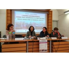L'agenda internazionale donne pace sicurezza e il PAN italiano: quale ruolo per la società civile?
