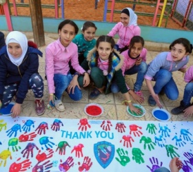 Update on the UNRWA project to provide psychological support to minors in Homs