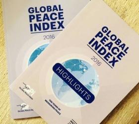 Il rapporto annuale del Global Peace Index 2016
