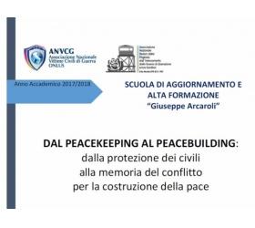 """Dal Peacekeeping al Peacebuilding"" – Scuola ""Giuseppe Arcaroli"""