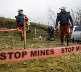 Droni e sminamento nelle esondazioni dei Balcani
