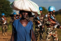 South Sudanese woman among UNMISS soldiers