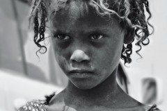 Ethiopian little girl