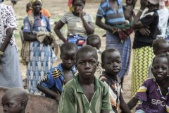 Children in Bersalogho, Burkina Faso
