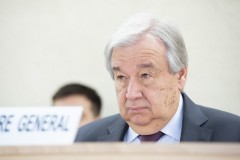 UN Secretary-General António Guterres at the 43rd Regular Session of the Human Rights Council on 24 February 2020