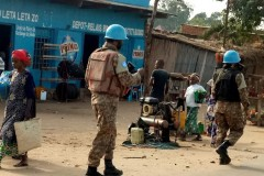 UN forces in the region of South Kivu