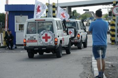 ICRC vehicles